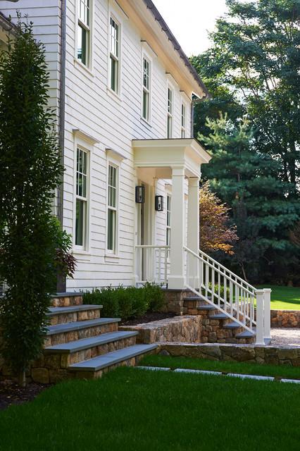 Front Elevation Farmhouse : Front elevation farmhouse entry new york by bonnie