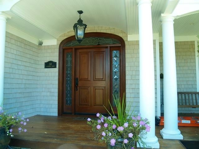 Front Door With Sidelights Repairs Ny: Front Entries, Transoms And Sidelights