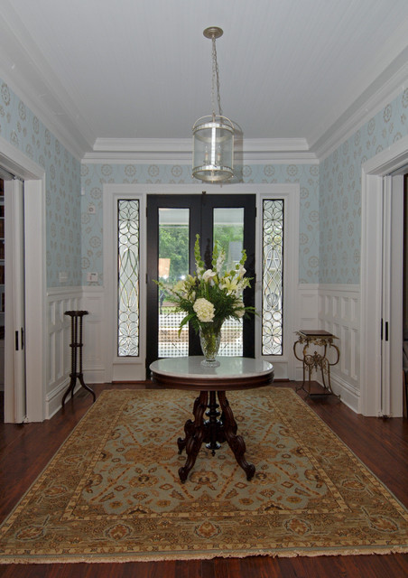 Foyer Entrance Questions : Front entry foyer traditional other by d p