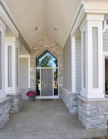 Front Entry Door Traditional Entry Other By Anderson Construction