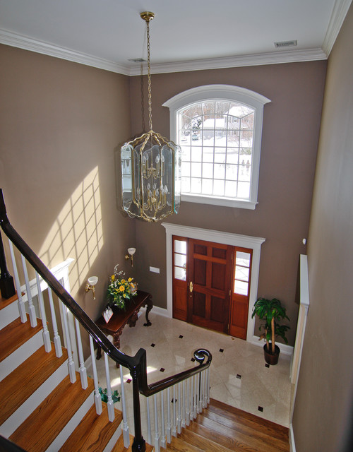 Traditional Foyer Questions : Front entry foyer