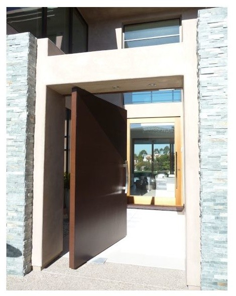 Front Entry Pivot Door Contemporary Entry San Diego By