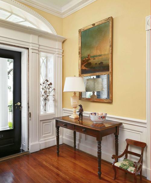 Front door of historic home in atlanta ga