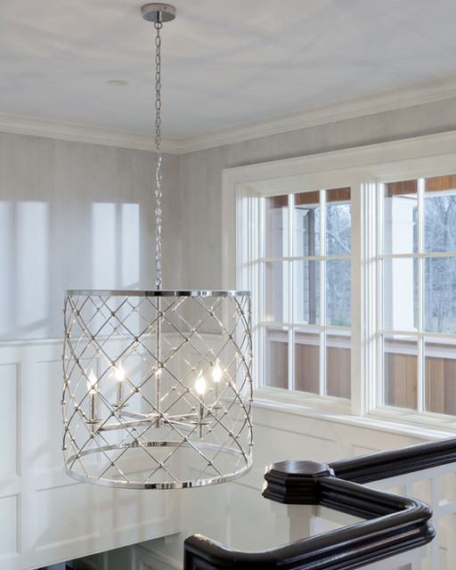 Foyer Ceiling Quotes : Front foyer stairs traditional entry new york by