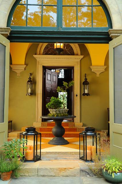 Front Loggia Design eclectic-entry
