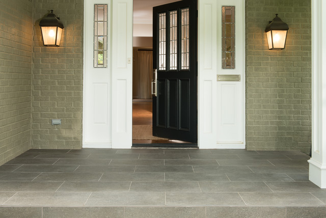 Front Porch Contemporary Entry
