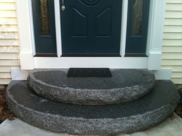 Front Steps Traditional Entry Boston By Hillside