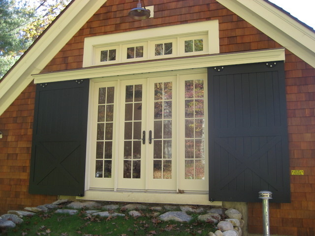 Full House Renovation, Addition, Barn/2 Car Garage - Lincoln traditional-entry