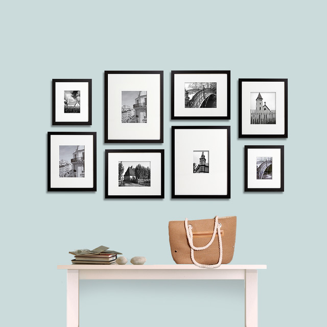 Gallery wall ideas : modern entry from www.houzz.com size 640 x 640 jpeg 54kB