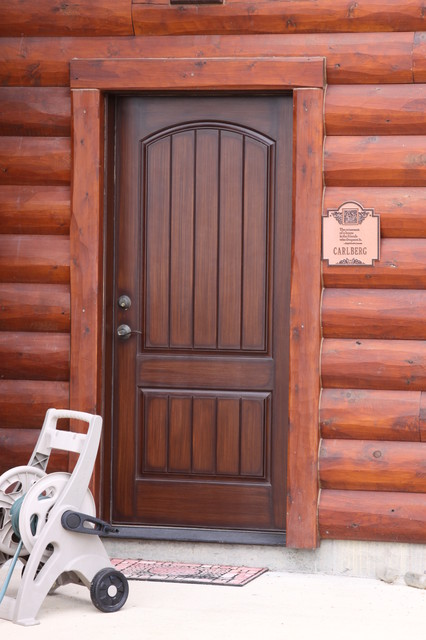 Garage doors traditional entry kansas city by for Garage door finishes