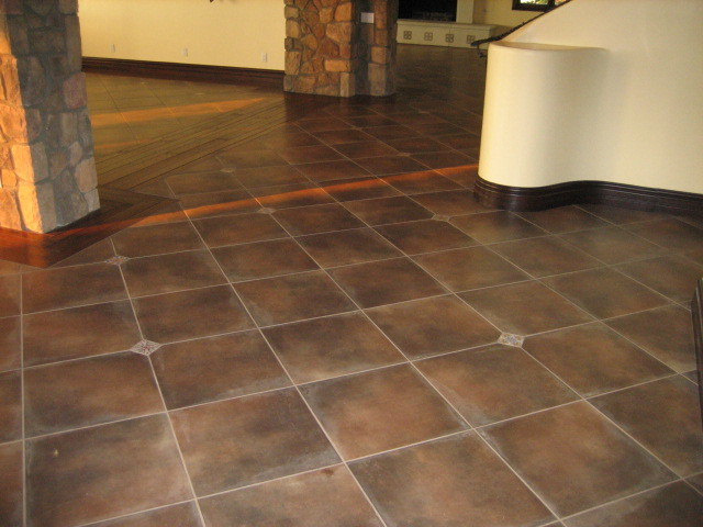 Home Remodel with Spanish Ceramic Tile