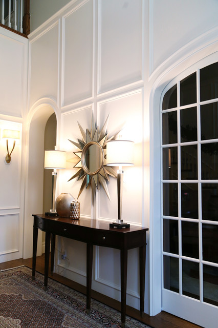 Georgian Colonial Foyer Contemporary Entry Other