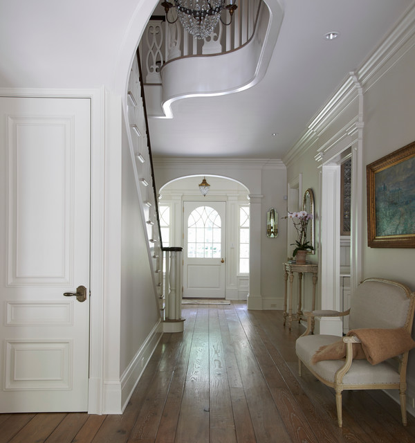 New Home Interior Design Traditional Hallway: Georgian Residence New Canaan