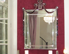 Glamour Mirror from the 30's. Buena vista Deco traditional-entry