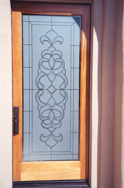Glass Doors - Front Doors with Glass - Glass Entry Doors Frosted Glass Designs - - Eclectic ...