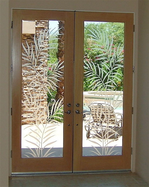 Glass Doors - Frosted Glass Front Entry Doors - FERNS 2D ...