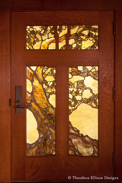 Gnarled Oak Tree Entry