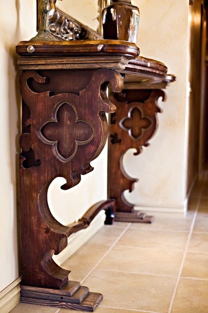 Gothic Style Furniture Mediterranean Entry