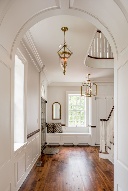 New Residence Horsham Pa Traditional Entry Philadelphia By Period Architecture Ltd