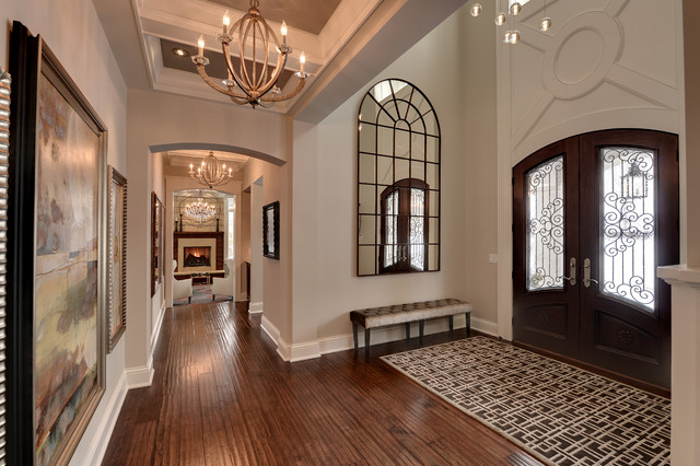 Graham Hill Residence Traditional Entry Minneapolis
