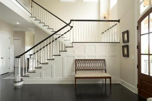 Donnau0027s Blog: Stairway Design: Wainscoting | Martha Ou0027Hara Interiors