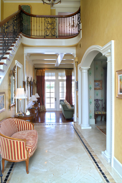 Grand Entrances traditional-entry