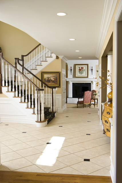 Grand Entry Foyer traditional entry