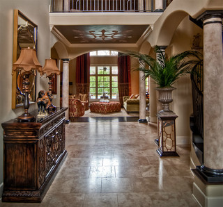 Grand Entryway Mediterranean Entry Nashville By