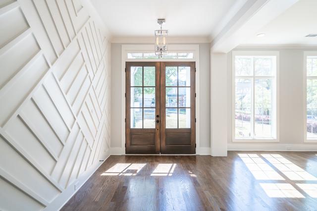 Entryway - contemporary entryway idea in Atlanta