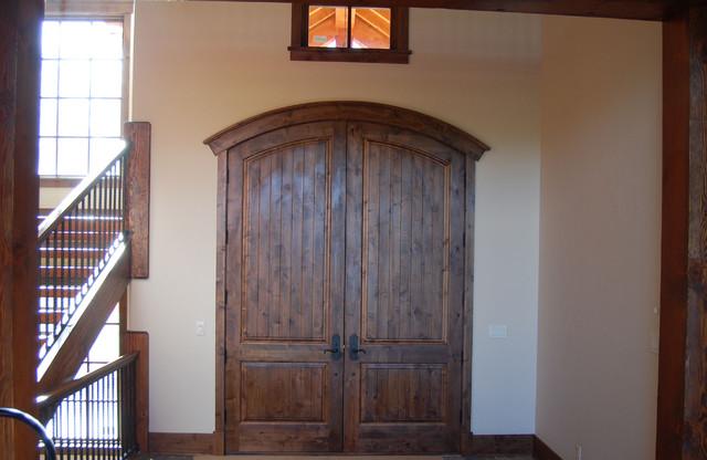 Great Divide Builders rustic-entry