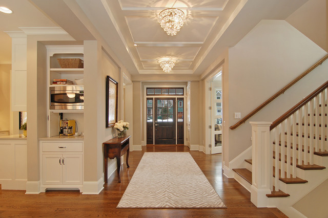 Great Neighborhood Homes transitional entry