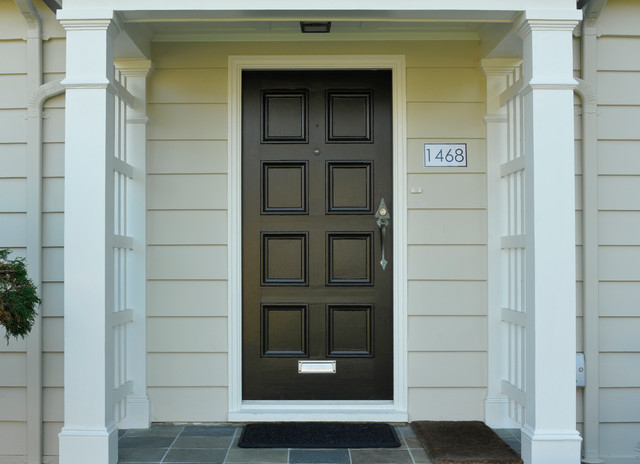 Grecian Inspired Colour - Traditional - Exterior - vancouver - by Warline Painting Ltd.