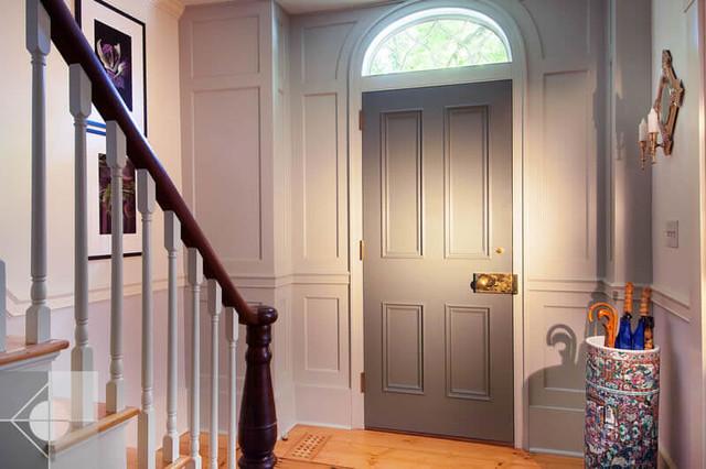 Greek Revival Historic Renovation Interiors