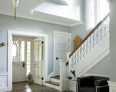 Green Gambrel Entry traditional entry