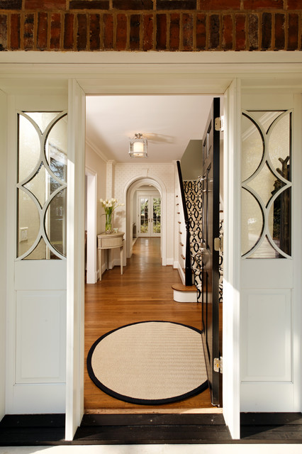 GREEN with Envy: LEED Certified Whole House Renovation traditional entry