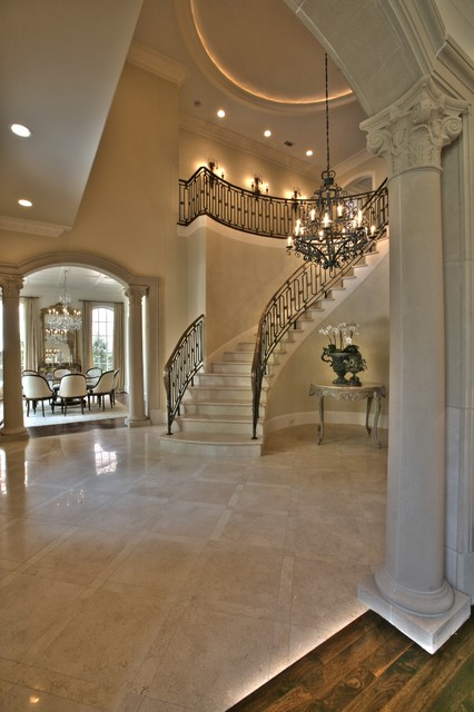 Houzz Traditional Foyer : Greenbrier foyer traditional entry dallas by isler