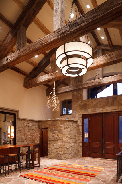 Gros Ventre Ranch traditional-entry
