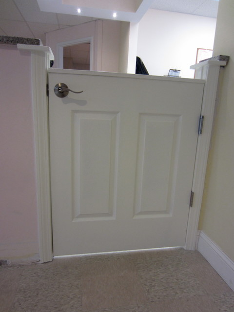 Half Door for Nursing home nursing station.