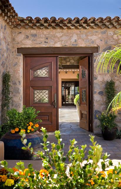 Hallmark Interior Design LLC mediterranean-entry
