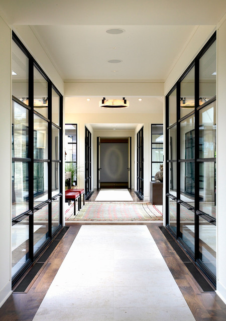 Harbor Springs Contemporary Entry contemporary entry