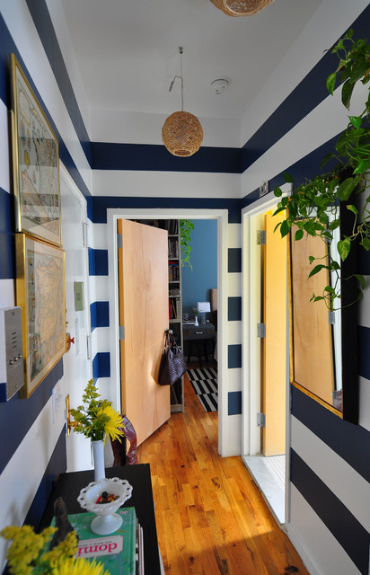 Harlem Apartment - Hall eclectic entry