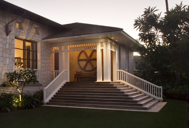 Hawaii Residence tropical-entry