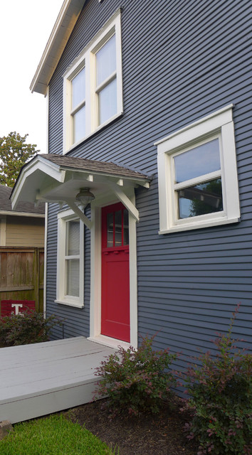 Heights Craftsman Project 9 traditional-entry
