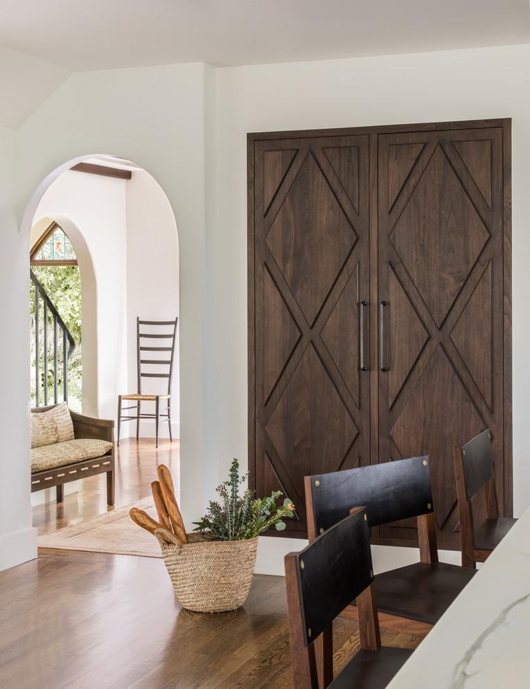 Inspiration for a mediterranean entryway remodel in San Francisco