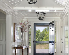 Hillside Farmhouse traditional entry