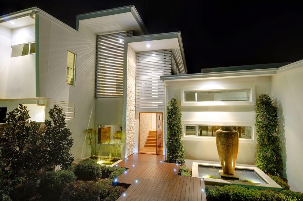 Hillside Home - Buderim - Contemporary - Entry - Sunshine ...