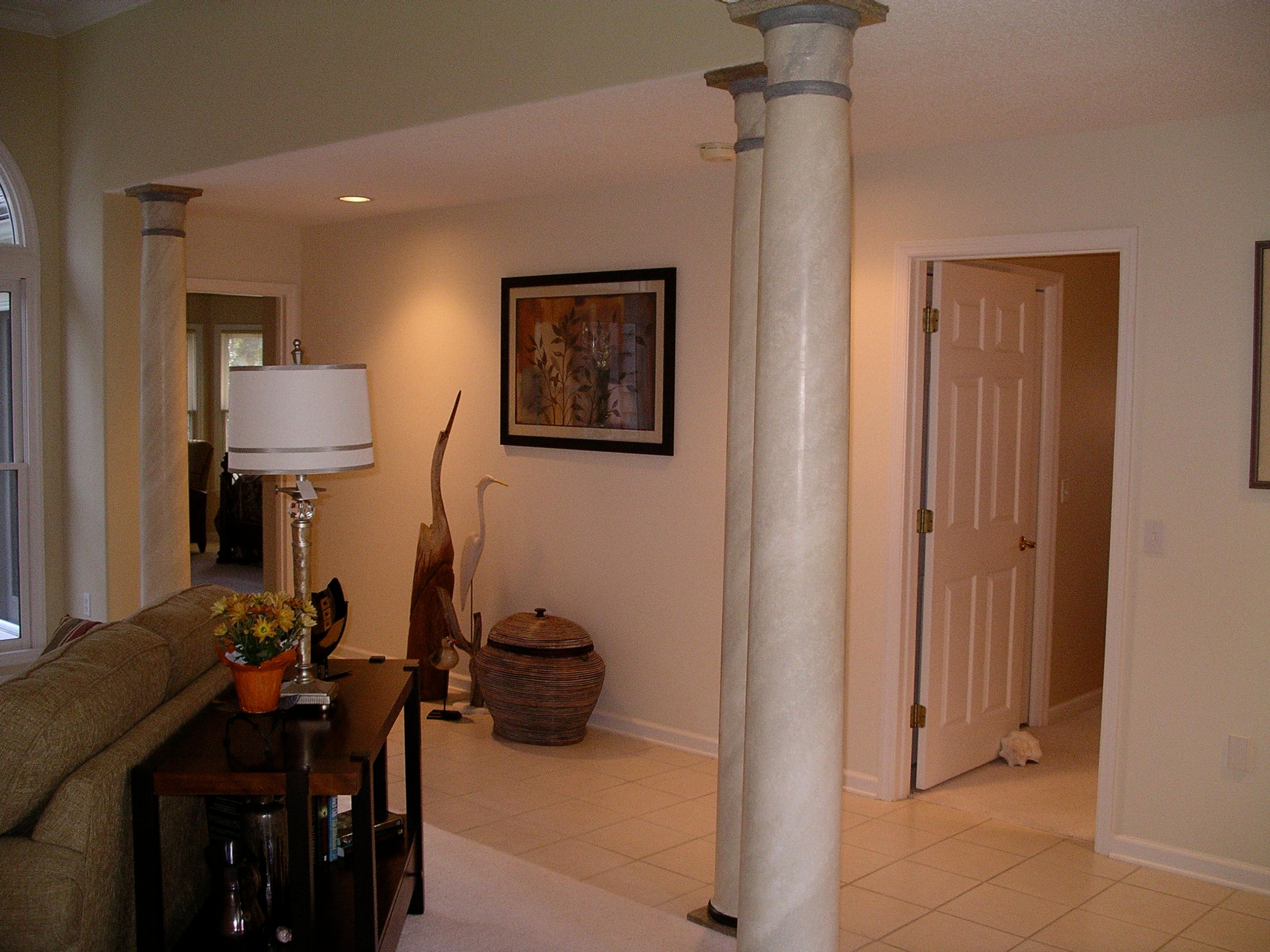 Hilton Head Home Remodel Columbs After Faux