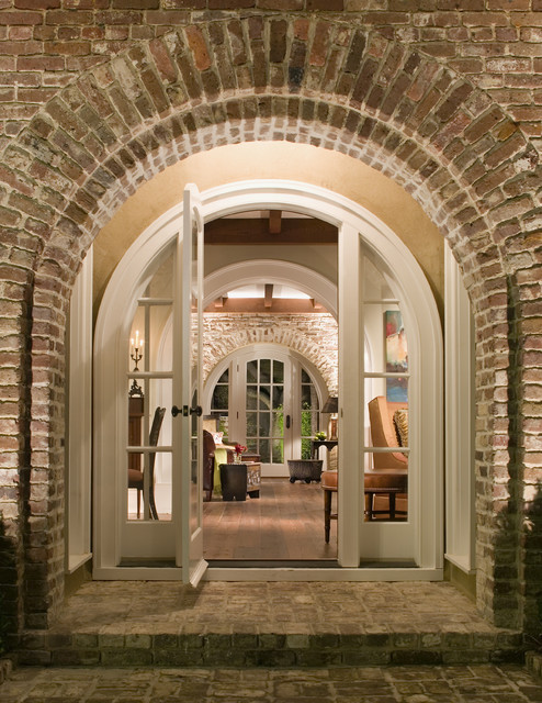 Historic Charleston Renovation Entry traditional-entry