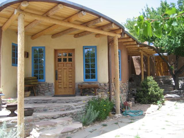 Historic Renovation Work in Santa Fe southwestern-entry