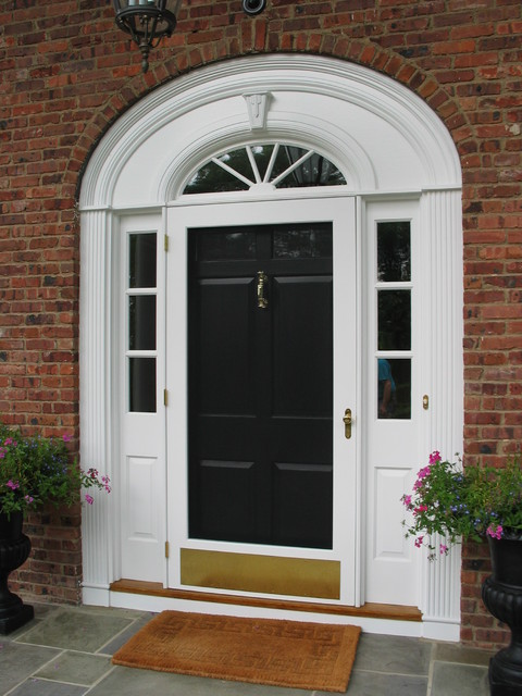 Historic replacement of entry doors traditional entry for Traditional front doors